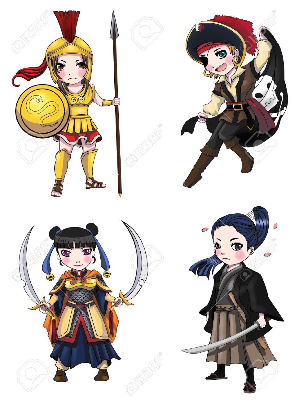 Women Warrior clipart #17, Download drawings