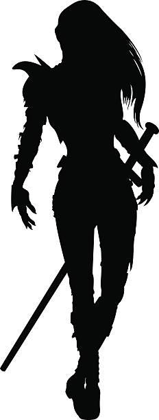 Women Warrior clipart #9, Download drawings