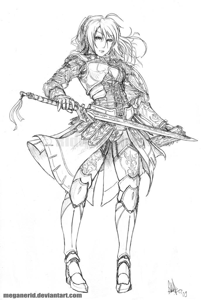 Woman Warrior coloring #16, Download drawings