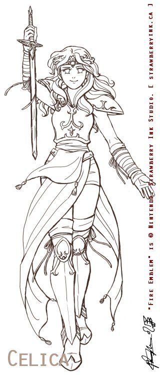 Female Warrior coloring, Download Female Warrior coloring ...