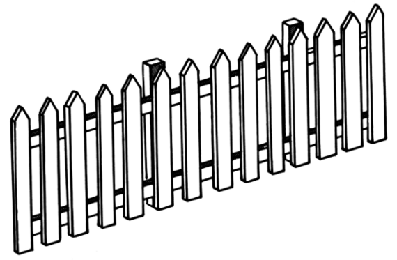 Fence clipart #7, Download drawings