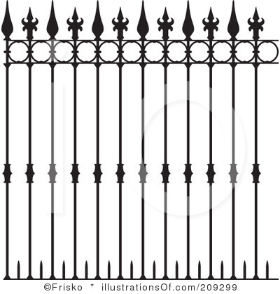 Fence clipart #2, Download drawings