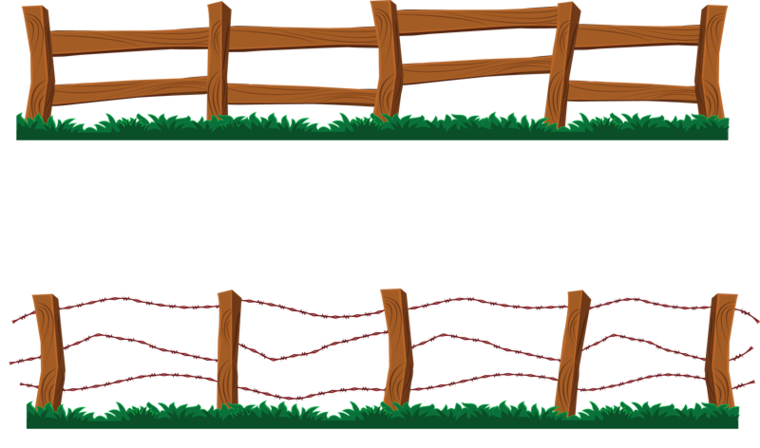 Fence clipart #6, Download drawings