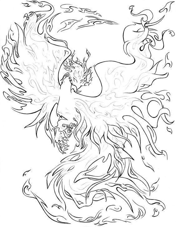 Fenix coloring #10, Download drawings