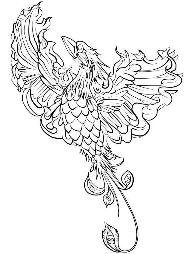 Fenix coloring #18, Download drawings
