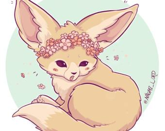 Fennec Fox clipart #1, Download drawings