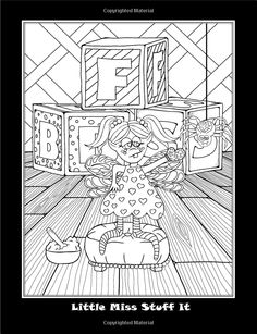 Feral coloring #8, Download drawings