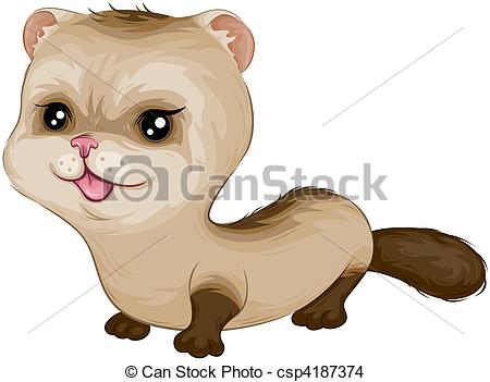 Ferret clipart #1, Download drawings