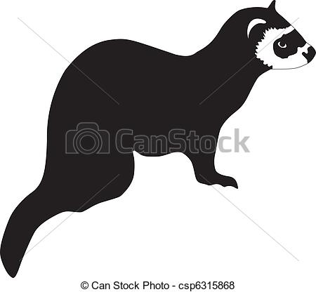 Ferret clipart #14, Download drawings