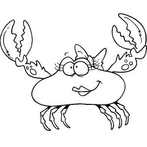 Fiddler Crab coloring #18, Download drawings