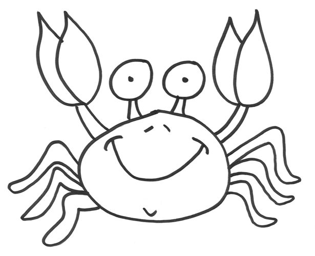 Fiddler Crab coloring #4, Download drawings