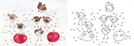 Fieldfare coloring #11, Download drawings