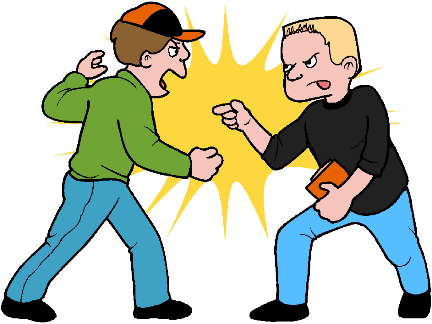 Fight clipart #5, Download drawings