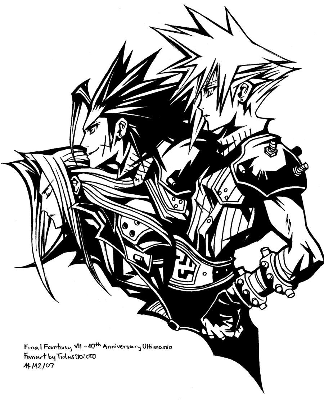 Final Fantasy coloring #15, Download drawings