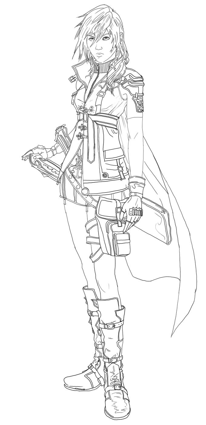 Final Fantasy coloring #17, Download drawings