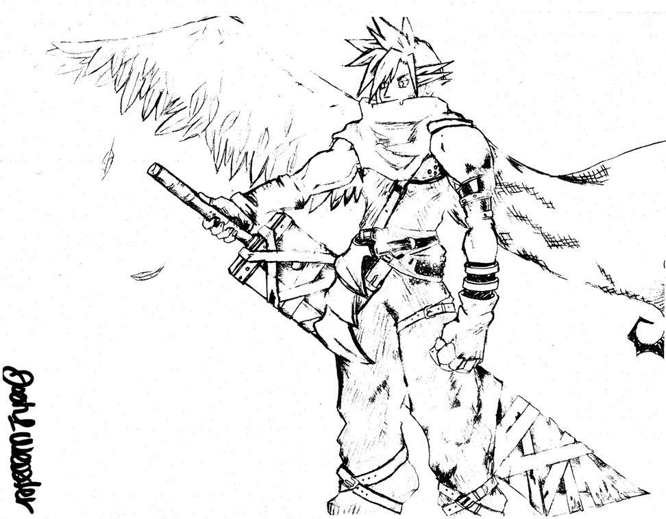 Final Fantasy coloring #16, Download drawings