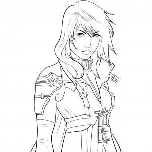Final Fantasy coloring #4, Download drawings