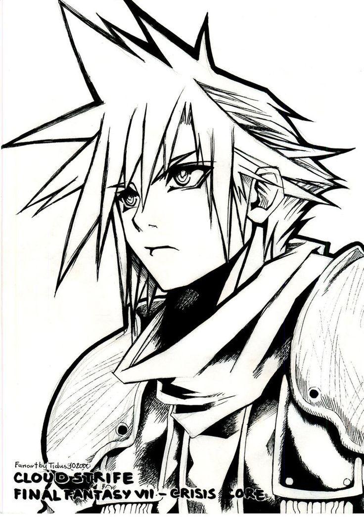 Final Fantasy coloring #20, Download drawings