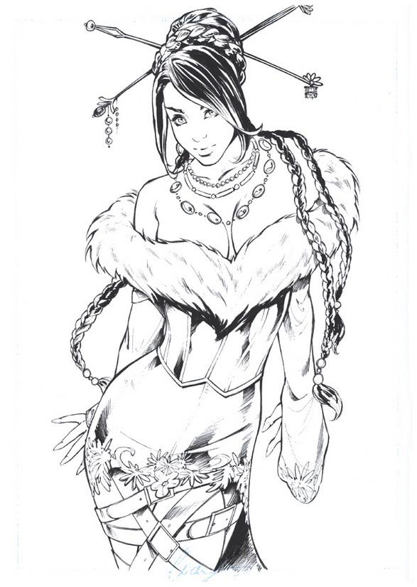 Final Fantasy coloring #12, Download drawings