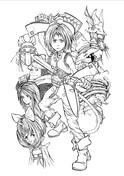 Final Fantasy coloring #18, Download drawings