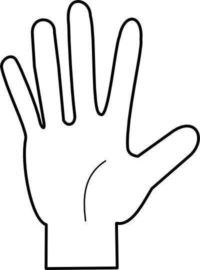 Finger clipart #4, Download drawings