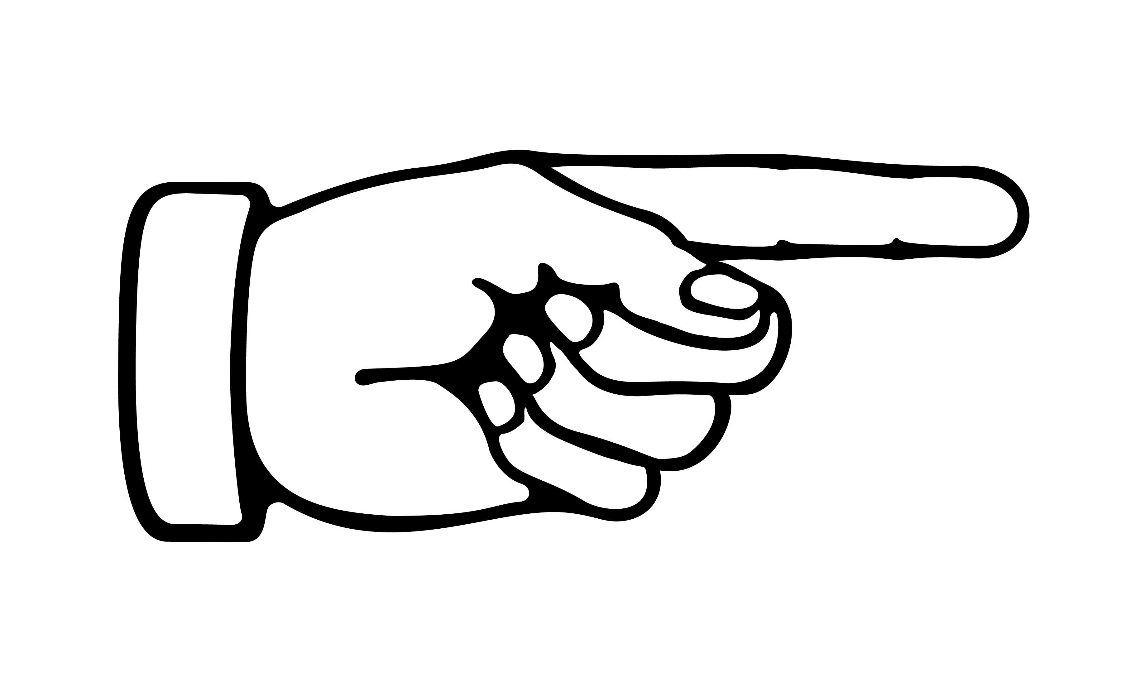 Finger clipart #2, Download drawings