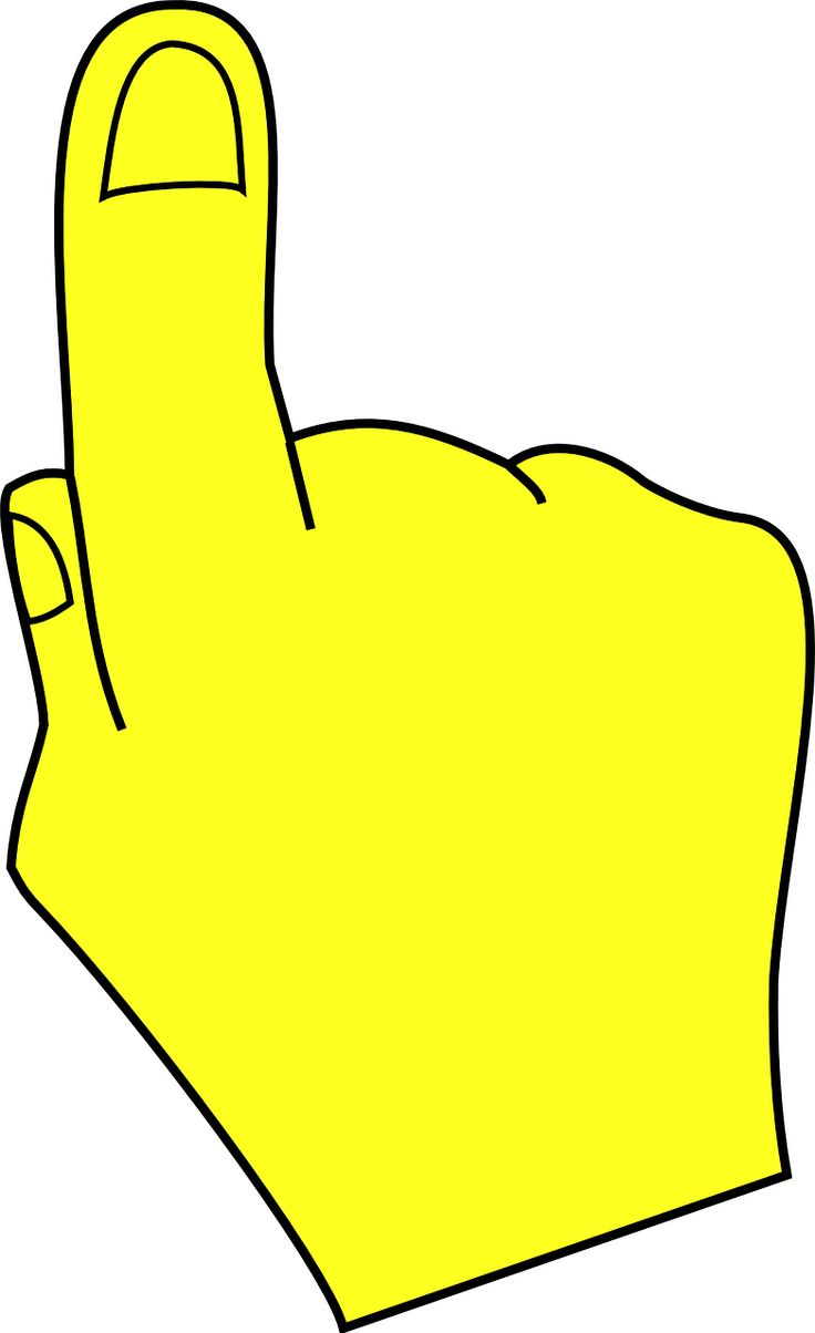 Finger clipart #1, Download drawings