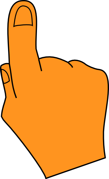 Finger clipart #5, Download drawings