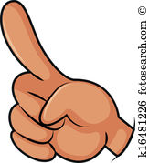 Finger clipart #13, Download drawings