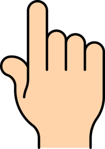 Finger clipart #12, Download drawings