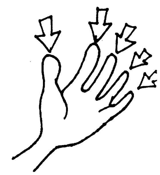 Finger clipart #14, Download drawings