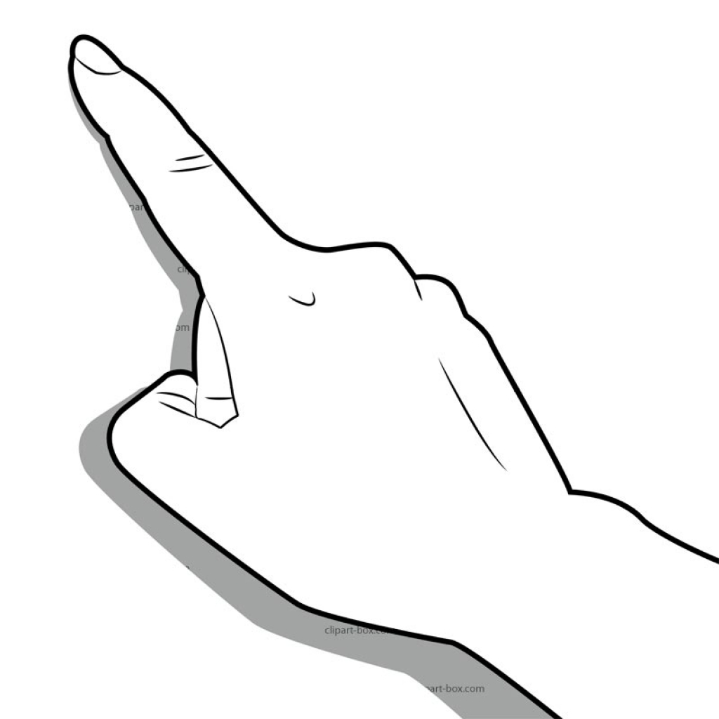 Finger clipart #10, Download drawings