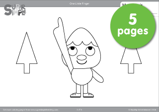 Finger coloring #8, Download drawings