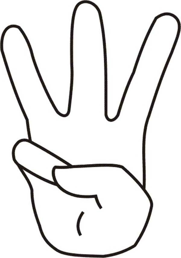 Finger coloring #14, Download drawings