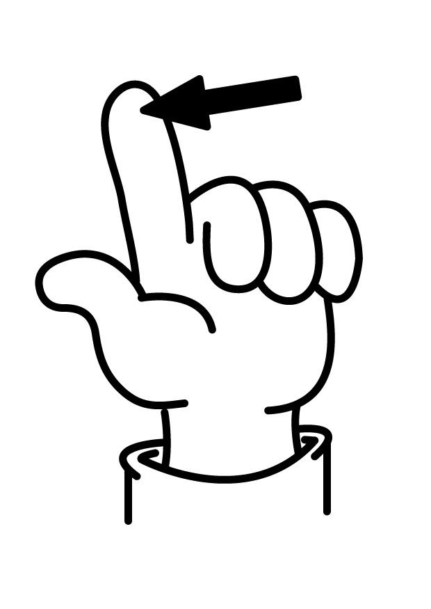 Finger coloring #10, Download drawings