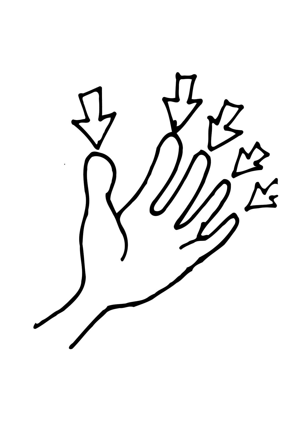 Finger coloring #17, Download drawings