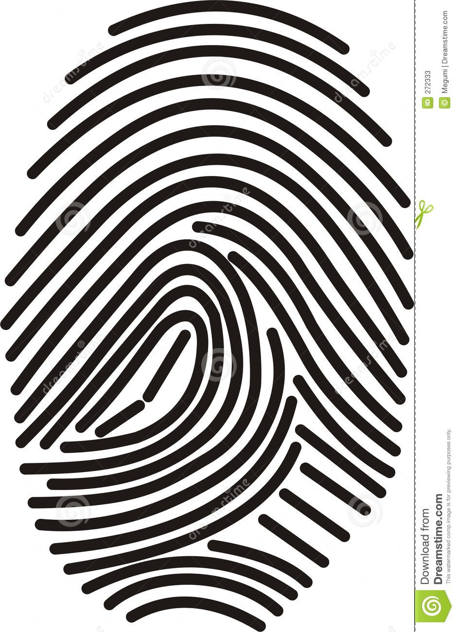 Finger Print clipart #6, Download drawings