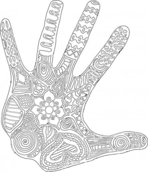 Finger Print coloring #9, Download drawings