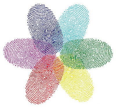 Fingerprint coloring #4, Download drawings