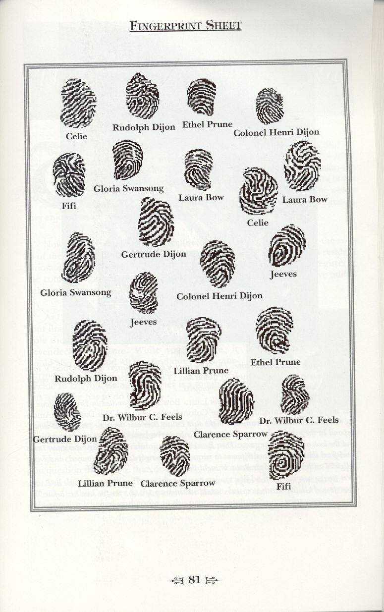 Fingerprint coloring #8, Download drawings