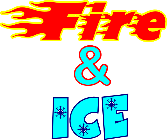 Fire And Ice clipart #5, Download drawings