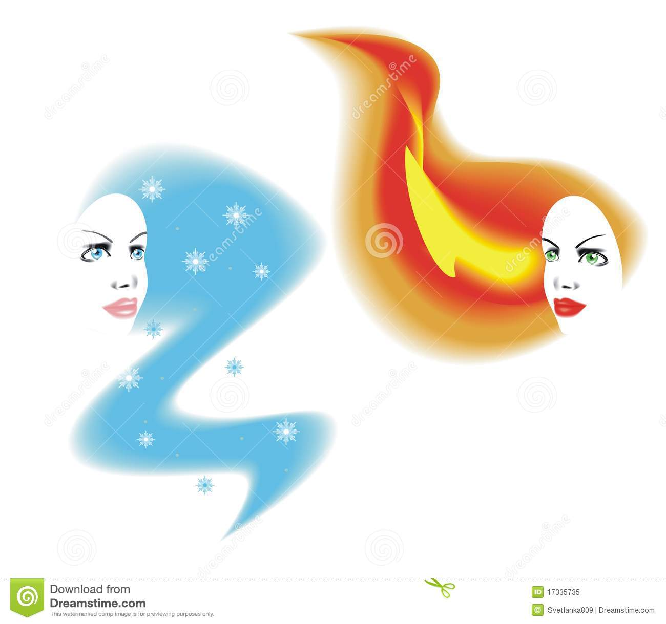 Fire And Ice clipart #7, Download drawings