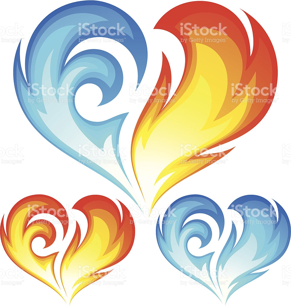 Fire And Ice clipart #2, Download drawings