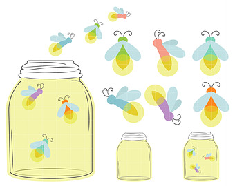 Firefly clipart #13, Download drawings