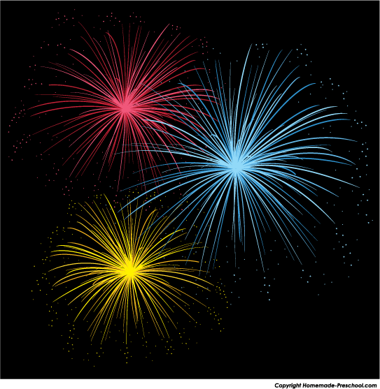 Fireworks clipart #4, Download drawings