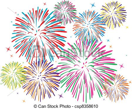 Fireworks clipart #2, Download drawings