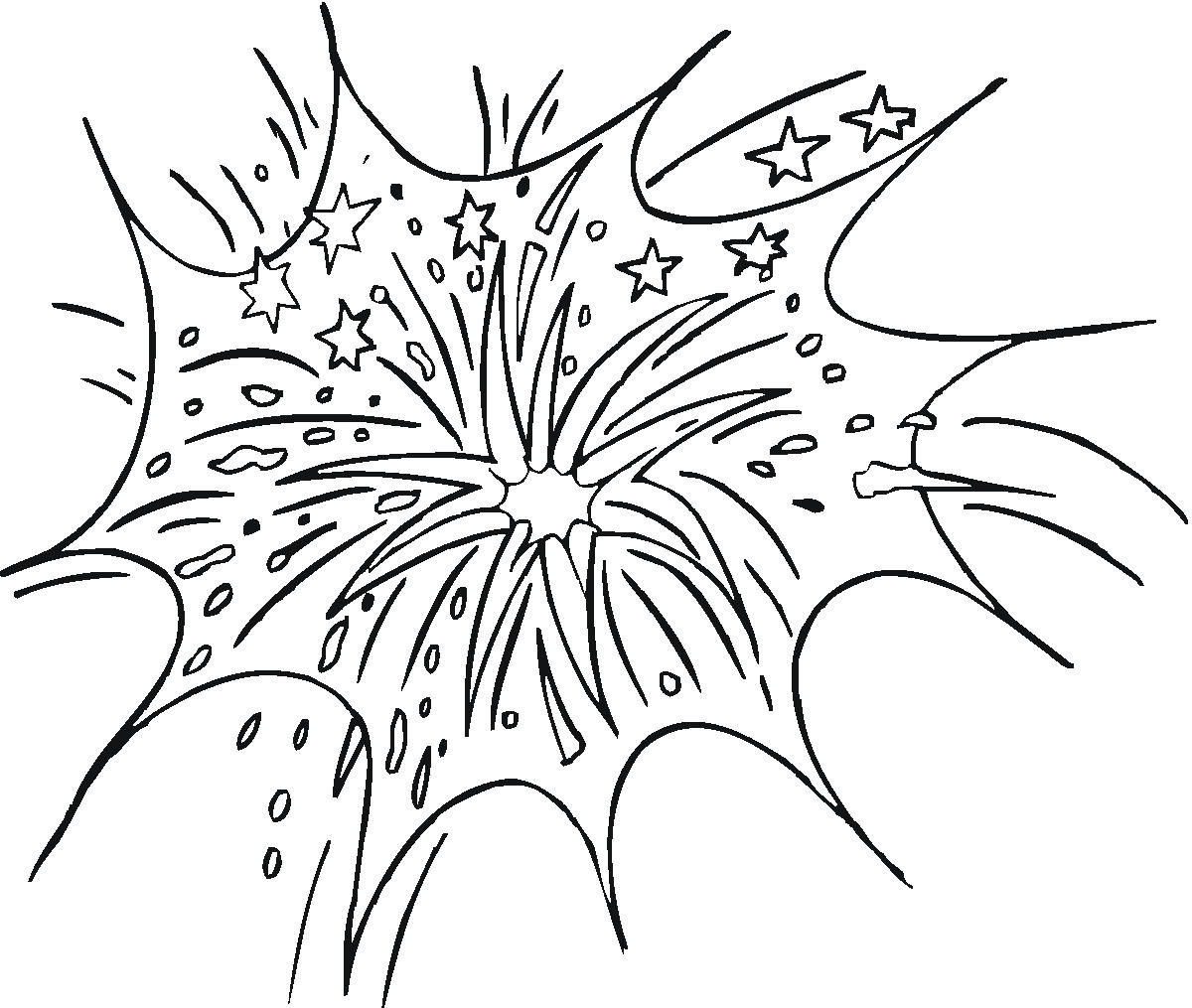 Fireworks coloring #18, Download drawings