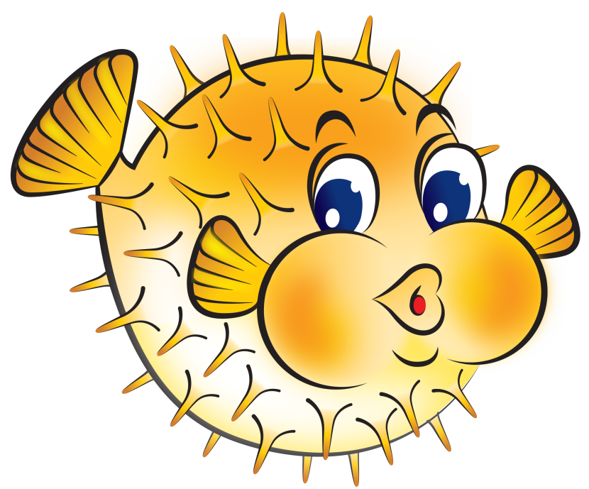 Pufferfish clipart #2, Download drawings
