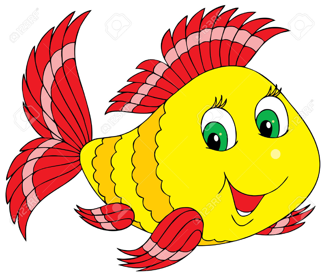 Fish clipart #3, Download drawings