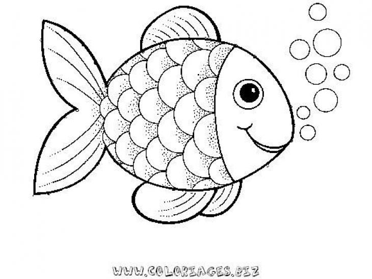 Fish coloring #4, Download drawings